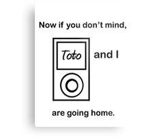 Toto and I.... Metal Print