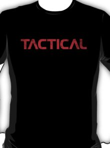 Tactical Red T-Shirt