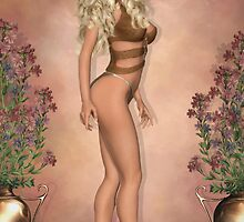 Golden Locks of Beauty by Lisa  Weber