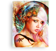 Astrid the Navigatrix Canvas Print
