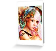 Astrid the Navigatrix Greeting Card