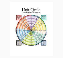 Unit Circle with Radian Measures Unisex T-Shirt