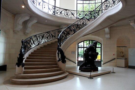 Petit Palais staircase by Elena Skvortsova