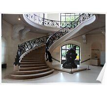 Petit Palais staircase Poster