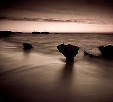 Trigg Beach Dusk by Paul Pichugin