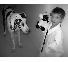 He's Bigger than my Cow, Mom Photographic Print