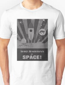 Space adventures, In Space!  T-Shirt