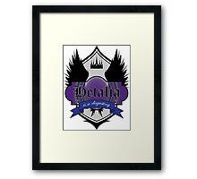 Hetalia is so DISGUSTING Framed Print