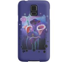 Purple Calla Tee Samsung Galaxy Case/Skin