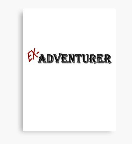 Ex-Adventurer Canvas Print