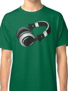 headphones Classic T-Shirt