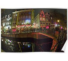 Amsterdam Night 017 Poster