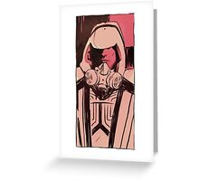 Tron Guard portrait Greeting Card