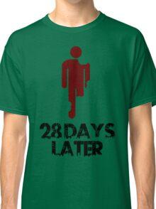 28 days later Funny Geek Nerd Classic T-Shirt