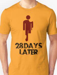 28 days later Funny Geek Nerd Unisex T-Shirt