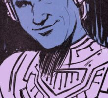 Flynn portrait Sticker