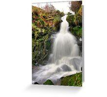 Dunsop Bridge Waterfall Greeting Card