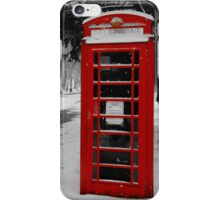 winter at crystal palace  iPhone Case/Skin