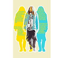 Jared Leto - words of wisdom Photographic Print