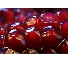 Pomegranate cells Photographic Print
