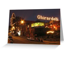 Ghirardelli Square Greeting Card