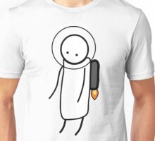 Lonely Spaceman Unisex T-Shirt
