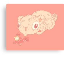 Tasty mushroom Canvas Print