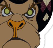 ARGYLE LION Sticker