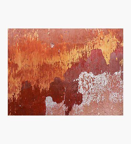 Bleeding Gold Photographic Print