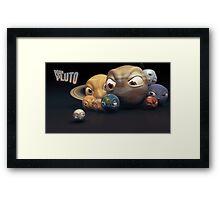 Poor Pluto Framed Print