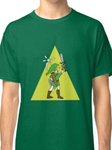 Link and Navi - TRIFORCE Classic T-Shirt