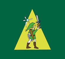 Link and Navi - TRIFORCE Unisex T-Shirt