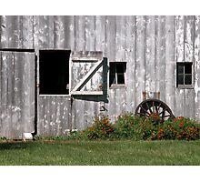Broken Arrow Barn Photographic Print