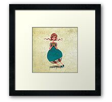 Tea Fairy Framed Print