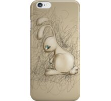 Sad Bunny iPhone Case/Skin