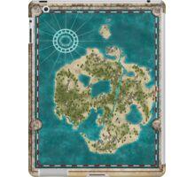 Pirate Adventure Map iPad Case/Skin