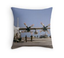 The Mighty Hercules Throw Pillow