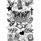 Harry Styles Tattoos by tashalmighty