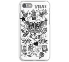 Harry Styles Tattoos iPhone Case/Skin