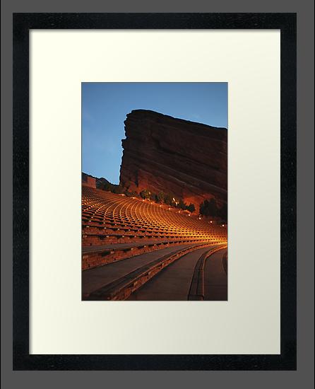 Red Rocks Amphitheater Morrison, Colorado by Paul Crossland