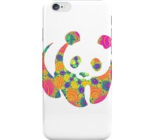 Psychedelic panda iPhone Case/Skin