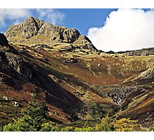 There is a pub at the bottom of this.. Photographic Print