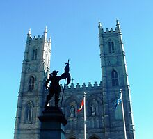 Montreal Cathedral by Braedene