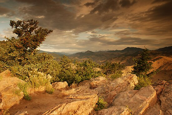 Lookout Mountain, Colorado by Paul Crossland