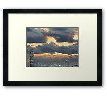 Lake Michigan Framed Print