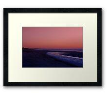 Sunrise Over Kiawah Island Framed Print