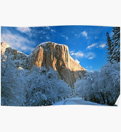EL CAPITAN,WINTER Poster