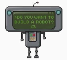 Do you want to build a robot? Kids Tee