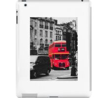 Red Bus iPad Case/Skin