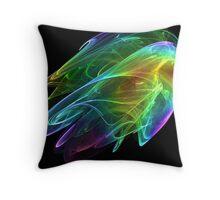Photonic Fleas  Throw Pillow